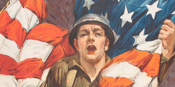 Gli illustratori che aiutarono l'America a vincere la Grande Guerra