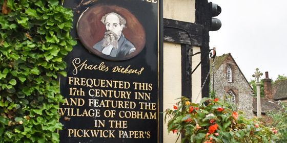 The Leather Bottle: a Cobham il pub-museo dedicato a Charles Dickens