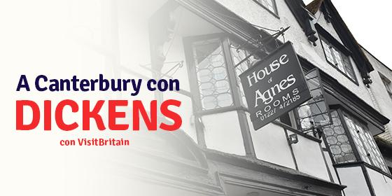 Charles Dickens, Canterbury e i luoghi di David Copperfield