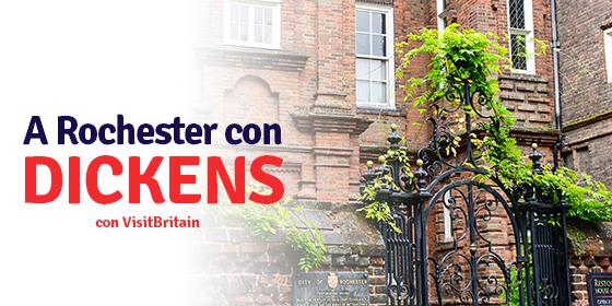 Charles Dickens a Rochester: itinerario nei luoghi dei suoi romanzi