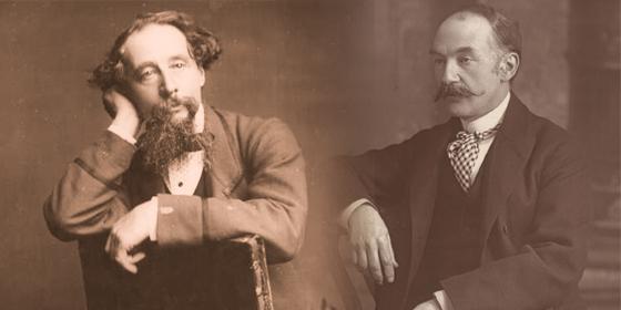 Charles Dickens e Thomas Hardy